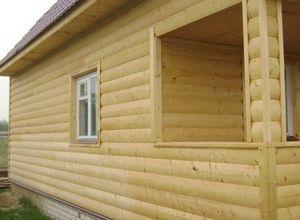 Блок-хаус на даче