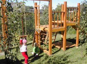 Детская игровая площадка своими руками на даче