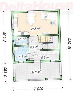 Двухэтажные и одноэтажные каркасные дома