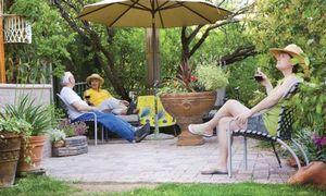 Как обустроить на даче комфортное место для пикника