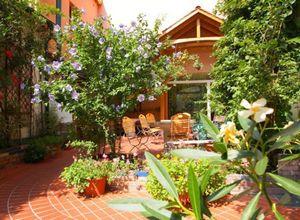 Как озеленить летнюю террасу на даче