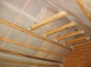 Как правильно утеплить крышу (изовер, урса, пенопласт)