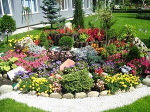 Как самостоятельно сделать альпийскую горку в своем саду