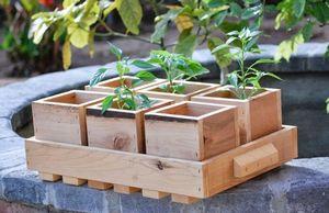 Как сделать деревянные ящики для рассады