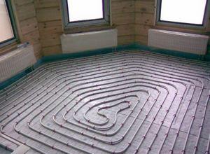 Как сделать теплый пол на даче