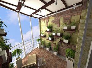 Как сделать зимний сад в частом доме, квартире или балконе?