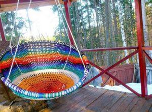 Как сплести гамак для дачи: рассмотрим методы плетения и материалы