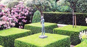 Ландшафтный дизайн. топиарное искусство или фигурная стрижка растений