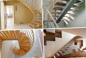 Лестничные ступени различной формы и разновидности