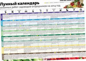 Лунный календарь садовода-огородника на 2015 год