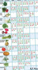 Лунный посевной календарь садовода и огородника на 2014 год