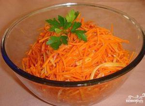 Морковка по-корейски: пошаговый рецепт с фото