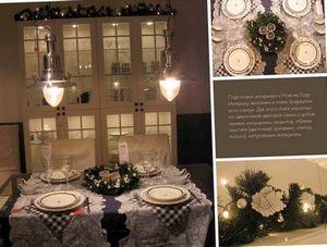 Новогоднее декорирование интерьера