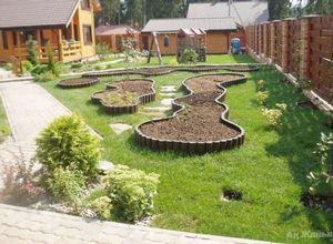 Огород посреди маленького сада: 3 декоративных варианта обустройства