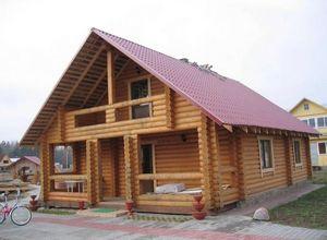 Преимущества домов из оцилиндрованного бревна