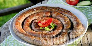 Рецепт приготовления домашней колбасы