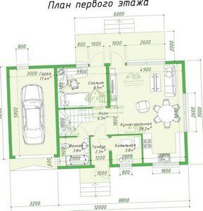 Шаг 1: планировка внутренней канализации