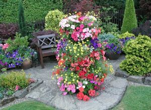 Советы мастеров по оформлению цветочных клумб на даче