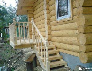 Строительство деревянной бани своими руками