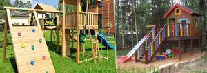Территория ребенка: детская площадка на даче