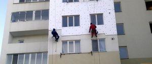 Утепление фасадов пенопластом, пенополистиролом